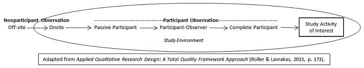 ethnography observer roles