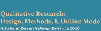 qualitative research design, methods, online mode